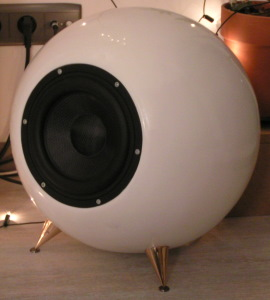 Home made eyeball subwoofer